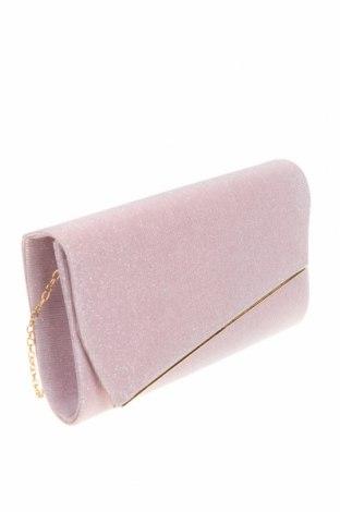 Дамска чанта Verde, Цвят Розов, Текстил, Цена 9,44лв.