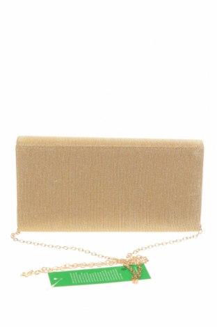 Дамска чанта Verde, Цвят Бежов, Текстил, Цена 22,42лв.