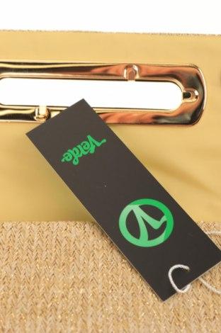 Дамска чанта Verde, Цвят Златист, Текстил, Цена 11,80лв.