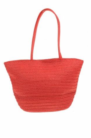 Чанта Verde, Цвят Червен, Други тъкани, еко кожа, Цена 51,75лв.