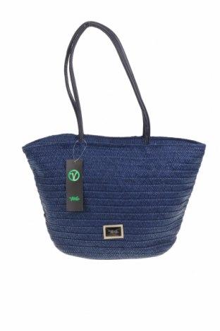 Τσάντα Verde, Χρώμα Μπλέ, Άλλα υφάσματα, δερματίνη, Τιμή 13,52€
