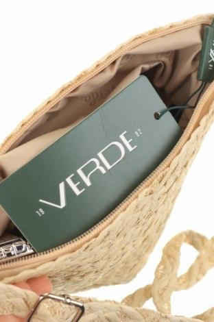 Дамска чанта Verde, Цвят Бежов, Други тъкани, Цена 22,77лв.