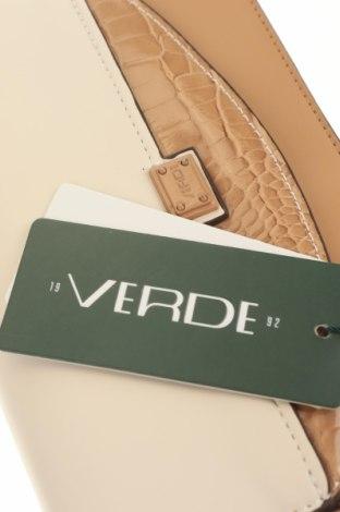 Дамска чанта Verde, Цвят Бял, Еко кожа, Цена 19,47лв.