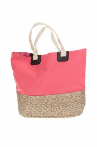 Дамска чанта Verde, Цвят Розов, Текстил, Цена 17,25лв.