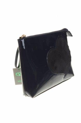 Дамска чанта Verde, Цвят Син, Еко кожа, текстил, Цена 44,25лв.