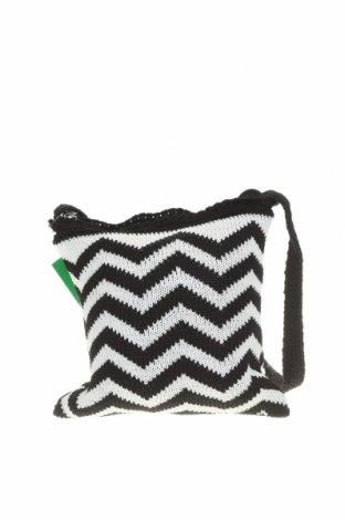 Дамска чанта Verde, Цвят Черен, Текстил, Цена 26,22лв.