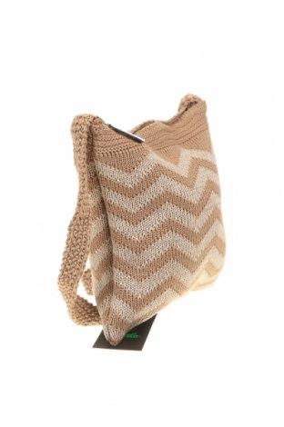 Дамска чанта Verde, Цвят Кафяв, Текстил, Цена 26,22лв.