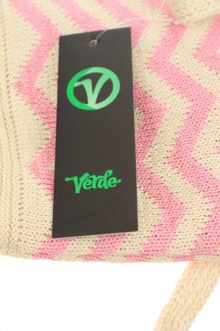 Дамска чанта Verde, Цвят Екрю, Текстил, Цена 10,35лв.