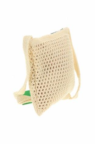 Дамска чанта Verde, Цвят Екрю, Текстил, Цена 15,87лв.