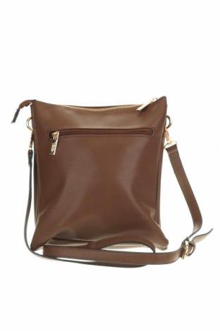 Дамска чанта Verde, Цвят Кафяв, Еко кожа, Цена 16,00лв.