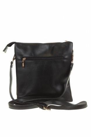 Дамска чанта Verde, Цвят Черен, Еко кожа, Цена 26,22лв.