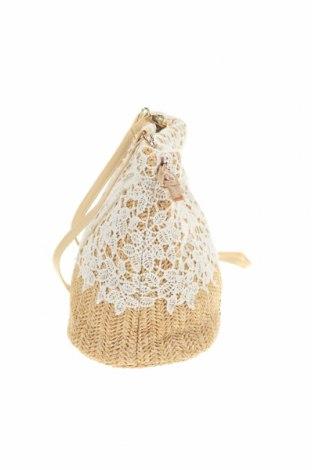 Дамска чанта Verde, Цвят Бял, Текстил, Цена 35,52лв.