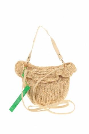 Дамска чанта Verde, Цвят Бежов, Текстил, Цена 26,22лв.