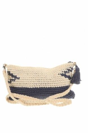 Дамска чанта Verde, Цвят Бежов, Текстил, Цена 24,32лв.