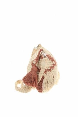 Дамска чанта Verde, Цвят Бежов, Текстил, Цена 14,72лв.