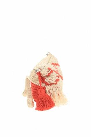 Дамска чанта Verde, Цвят Червен, Текстил, Цена 9,60лв.