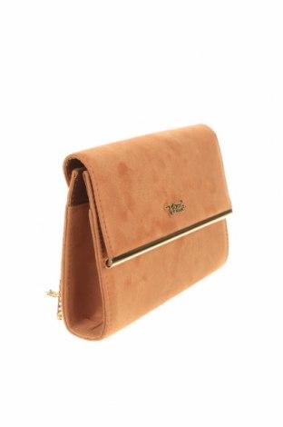 Дамска чанта Verde, Цвят Кафяв, Текстил, Цена 11,80лв.