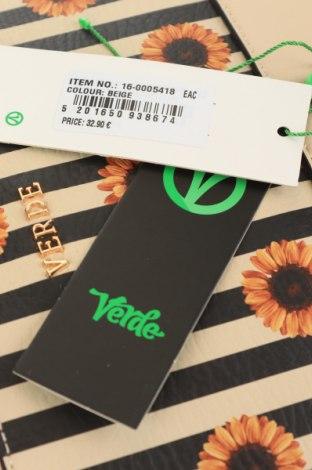 Дамска чанта Verde, Цвят Екрю, Еко кожа, Цена 22,42лв.