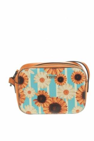 Дамска чанта Verde, Цвят Жълт, Еко кожа, Цена 12,39лв.