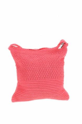 Дамска чанта Verde, Цвят Розов, Текстил, Цена 13,80лв.