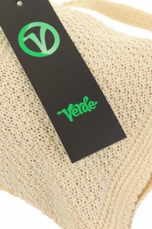 Дамска чанта Verde, Цвят Бежов, Текстил, Цена 10,35лв.