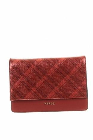 Дамска чанта Verde, Цвят Червен, Еко кожа, Цена 15,87лв.