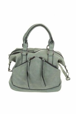 Дамска чанта Violet Ray, Цвят Зелен, Еко кожа, Цена 29,40лв.