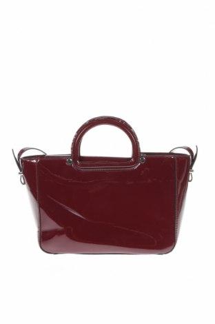 Дамска чанта Zara, Цвят Червен, Еко кожа, Цена 23,32лв.