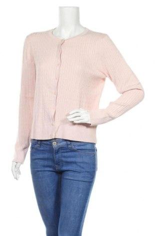 Дамска жилетка H&M, Размер M, Цвят Розов, 70% вискоза, 30% полиамид, Цена 21,00лв.