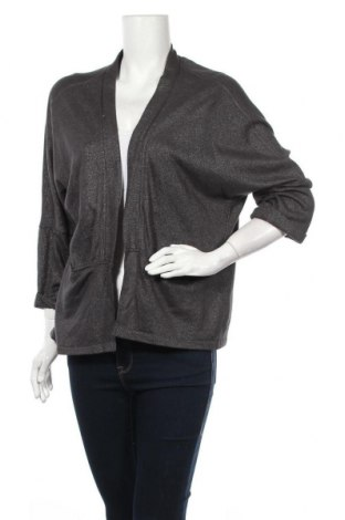 Дамска жилетка H&M, Размер XL, Цвят Сив, 45% памук, 40% полиестер, 15% вискоза, Цена 14,49лв.