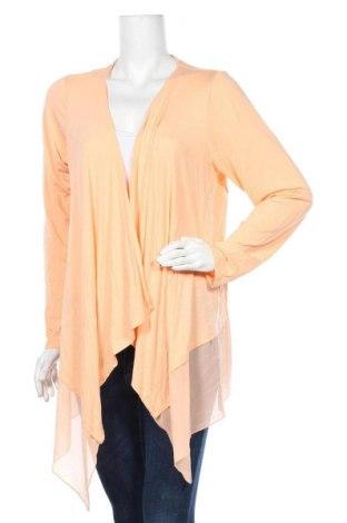 Дамска жилетка Joan Rivers, Размер L, Цвят Оранжев, 94% вискоза, 6% еластан, Цена 10,87лв.