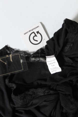 Дамска жилетка Rendez - Vous Paris, Размер M, Цвят Черен, 92% вискоза, 8% еластан, Цена 9,80лв.