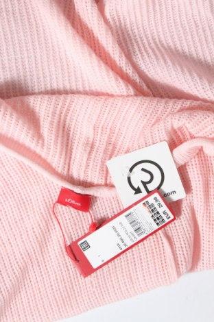 Дамска жилетка S.Oliver, Размер L, Цвят Розов, 45% вискоза, 28% полиамид, 27% полиестер, Цена 8,82лв.
