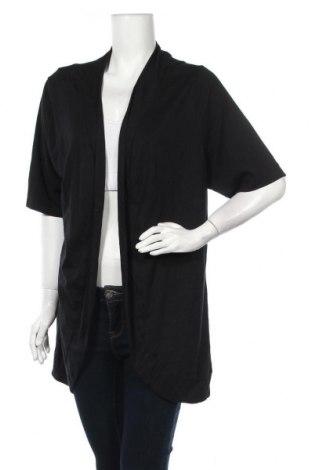 Γυναικεία ζακέτα St. John's Bay, Μέγεθος XXL, Χρώμα Μαύρο, 60% βαμβάκι, 40% μοντάλ, Τιμή 13,64€