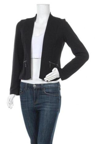 Дамска жилетка Tom Tailor, Размер S, Цвят Черен, 95% полиестер, 5% еластан, Цена 31,61лв.