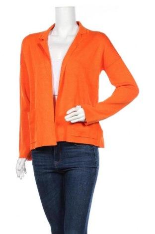 Дамска жилетка Tom Tailor, Размер S, Цвят Оранжев, 80% вискоза, 20% полиамид, Цена 22,12лв.