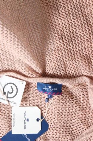 Дамска жилетка Tom Tailor, Размер L, Цвят Розов, Памук, Цена 27,65лв.