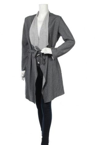 Дамска жилетка Tom Tailor, Размер L, Цвят Сив, 50% памук, 43% полиестер, 7% вискоза, Цена 35,28лв.