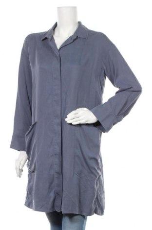 Γυναικείο πουκάμισο COS, Μέγεθος M, Χρώμα Μπλέ, Τιμή 22,73€