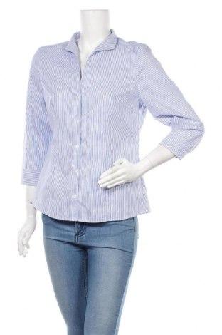 Дамска риза Christian Berg, Размер M, Цвят Син, Цена 16,20лв.