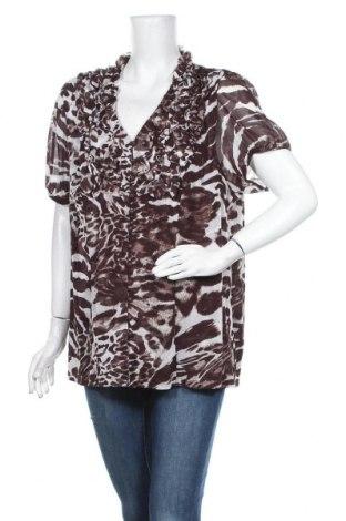 Γυναικείο πουκάμισο INC International Concepts, Μέγεθος XL, Χρώμα Καφέ, Πολυαμίδη, Τιμή 24,06€