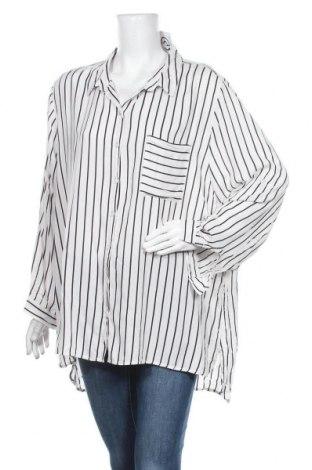 Γυναικείο πουκάμισο Khoko, Μέγεθος XXL, Χρώμα Λευκό, Βισκόζη, Τιμή 7,79€