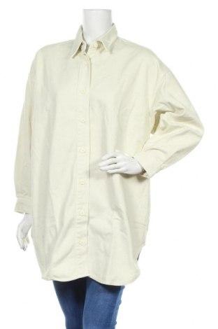 Γυναικείο πουκάμισο LeGer By Lena Gercke, Μέγεθος XL, Χρώμα Εκρού, 100% βαμβάκι, Τιμή 21,34€
