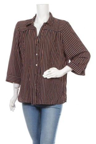 Γυναικείο πουκάμισο Liz Jordan, Μέγεθος XXL, Χρώμα Πολύχρωμο, Πολυεστέρας, Τιμή 10,23€