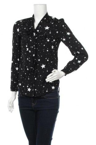 Γυναικείο πουκάμισο Oasis, Μέγεθος XS, Χρώμα Μαύρο, Βισκόζη, Τιμή 20,88€