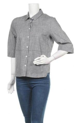 Дамска риза Someday., Размер M, Цвят Сив, 94% памук, 6% лен, Цена 6,98лв.