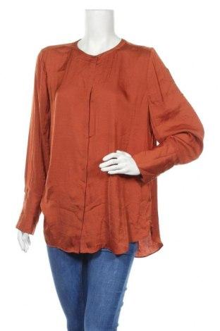 Γυναικείο πουκάμισο Sussan, Μέγεθος XL, Χρώμα Καφέ, Πολυεστέρας, Τιμή 11,11€