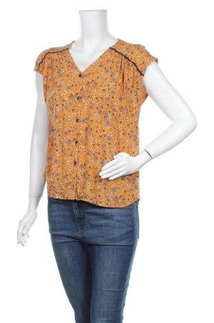 Γυναικείο πουκάμισο Tu, Μέγεθος L, Χρώμα Κίτρινο, Βισκόζη, Τιμή 8,83€
