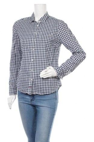 Дамска риза U.S. Polo Assn., Размер L, Цвят Син, Памук, Цена 35,91лв.