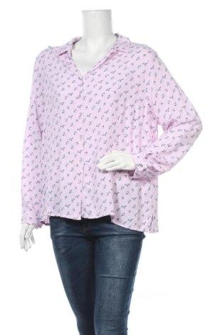 Γυναικείο πουκάμισο W. Lane, Μέγεθος XXL, Χρώμα Ρόζ , Βισκόζη, Τιμή 11,69€